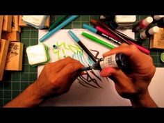 Stampscapes 101: Video 11. Re-inking Pens