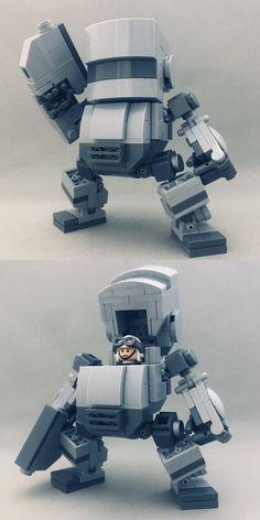 "Going up again: Let's make a LEGO fig-riding robot ""EGG !-Ex-post report of f: id: da. Lego Mecha, Lego Bionicle, Robot Lego, Lego Bots, Robots, Lego Display, Lego Design, Pokemon Lego, Lego Dragon"