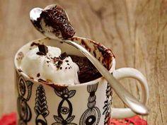 Suklaakakku mikrossa