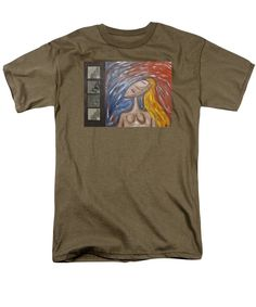 Pop Art Men's T-Shirt (Regular Fit) featuring the painting Standards Of Beauty by Mario Perron http://1-mario-perron.pixels.com/products/standards-of-beauty-mario-perron-adult-tshirt.html