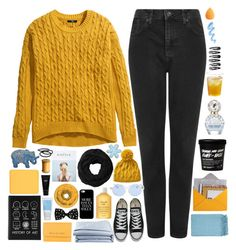 """☾ thank you so much for 25k!!!!"" by thundxrstorms ❤ liked on Polyvore featuring Topshop, H&M, Converse, Sunettes, Surya, Design 55, Michael Kors, Fresh, Miss Selfridge and Casetify"