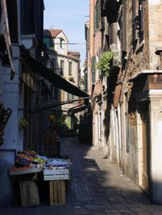 A fresh fruit stand at the corner of a traditional and historic Venetian street. Fruit Art, The World's Greatest, Venice, Fine Art America, Saatchi Art, Original Art, Italy, Art Prints, Wall Art