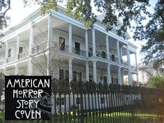 """A look inside Buckner Mansion, the historic 1850s New Orleans house used in the FX series """"American Horror Story: Coven"""" as Miss Robichaux's Academy."""