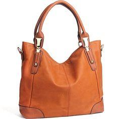 8c53c9978e JOYSON Women Handbags Tote Hobo Handbags Women Shoulder Bags PU Leather  Large Capacity Bags Black  Handbags  Amazon.com