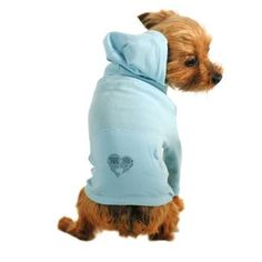 """""""Distance"""" Dog Hoodie makes me wish we had a doggie to put it on..."""