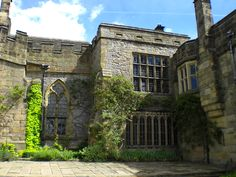 Courtyard, Haddon Hall