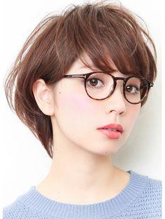 Asian Makeup Glasses, Haircut Styles For Women, Short Hair Styles, Cute Halloween Makeup, Celebrity Makeup Looks, Asian Short Hair, Formal Makeup, Makeup For Beginners, Contour Makeup