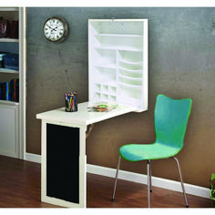 Utopia Alley Fold Down Desk Table Wall Cabinet With Chalkboard, Brown Table Murphy, Murphy Bed Ikea, Pallet Desk, Office Furniture Stores, Furniture Deals, Furniture Outlet, Online Furniture, Fold Down Desk, Mobile Home Makeovers