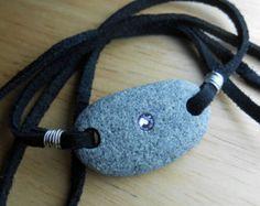 Beach Stone Jewelry - Pebble Bracelet / Wrap / Hair Tie / Anklet / Choker / Necklace - WRAP IT UP