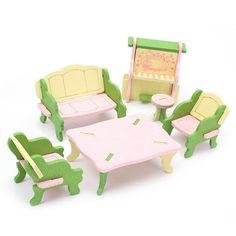 Wooden Miniature Furniture Sets