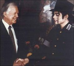Today in MJ HIStory - 3/12/1993 - It was announced that Michael Jackson would team up with former President Jimmy Carter to help immunize thousands of pre-school children in Atlanta, GA.