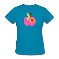 Apple - teacher t-sh