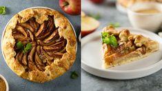 Galetka: Najrýchlejší jablkový koláč, ktorý sa vždy podarí Apple Pie, Bread, Baking, Desserts, Food, Basket, Tailgate Desserts, Deserts, Brot