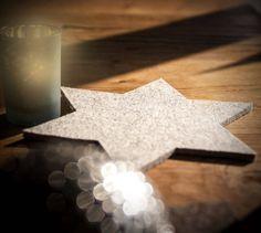 Weihnachtsdeko Weihnachtsdekoration Stern Filz Filzuntersetzer Dekoration Deko Advent Adventsdekoration Weihnachten winter herbst home von werktat auf Etsy