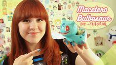 ♡ Macetero de Bulbasaur! DIY / Tutorial ♡ By Piyoasdf