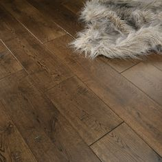 Florence Solid Hand Scraped 120mm Antique Oak Flooring £28.98