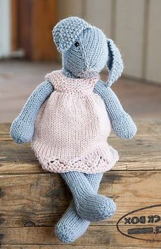 Ravelry: Lizzie Rabbit pattern by Rae Blackledge
