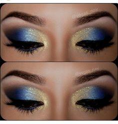 Great night eyeshadow color