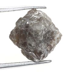 2.86 Ct Rare Natural Fancy Silver Brown Sparkling Color Rough Loose Diamond
