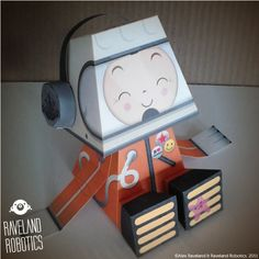 Papertoy 'Nu'Kosmonaut' | Paper Toy (The Paper Toys Coop)