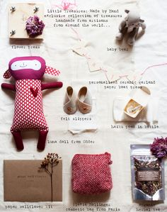 A gift package by Pia Jane Bijkerk with 9 handmade treasures... And all made by talented artisans across the globe