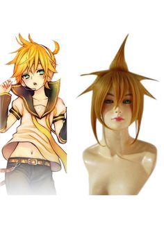 Vocaloid Kagamine Len Cosplay Wig