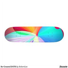 Re-Created DOTS Custom Skate Board #Robert #S. #Lee #skateboard #board #decks #skater #design #colors #customizable #re-created