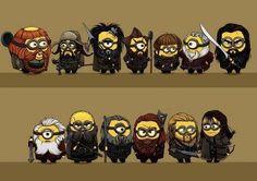 Minion Dwarves!!!! xD