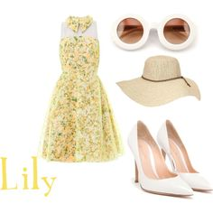 """""""Lily"""" by thegreaterfool on Polyvore"""