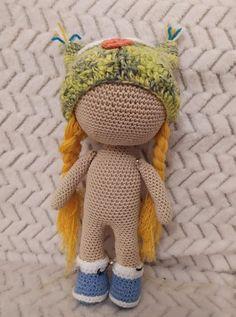 Háčkovaná bábika Anička ~ Tvorím s láskou - by Peťka Panda, Teddy Bear, Puppies, Toys, Crochet, Animals, Amigurumi, Activity Toys, Cubs
