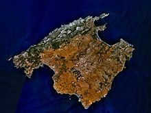A satellite image of Mallorca (Majorca) where on Sunday April a Pink Flamingo was found to be walking in front of a 737 MAX jetliner - Wikipedia Ibiza, Holiday Destinations, Vacation Destinations, Mallorca Beaches, Sites Touristiques, Explore Travel, Innsbruck, Travel Memories, Pink Flamingos