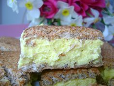 Romanian Desserts, Food Cakes, Something Sweet, Cheesecakes, Vanilla Cake, Cake Recipes, Biscuits, Sandwiches, Sweet Treats