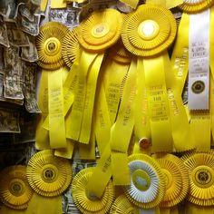 Yello ribbons i want one sooooo bad!