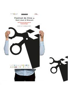 Poster_ 1º Award Festival de Cine de San Juan Alicante  Branding