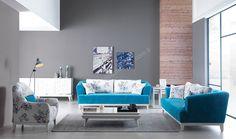 Golf Koltuk Takımı Son Derece Sıcak Ve Canlı Renkleri İle Birlikte Sade Bir Şıklık Sergileyen Bir Model #yildizmobilya #mobilya #avangarde #furniture #sofa #blue http://www.yildizmobilya.com.tr/