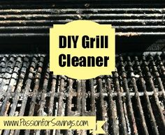 How to Make your own DIY Grill Cleaner