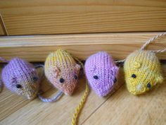 Looking for your next project? You're going to love Mice running around cat toys by designer lea67000. - via @Craftsy