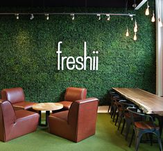Freshii: Live Edge Communal Table - Rutherford Marketplace_Canada