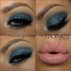 Take a look at this new eye look 'Nightlife' created by #theamazingworldofj using #motivescosmetics