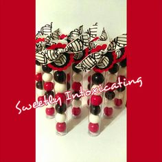 This listing is for 12 filled and tagged volleyball themed gumball favor tubes. These are great for fundraisers, soccer parties, games or any other volleyball themed event. Thank you for visiting my shop and I hope that you chews my item to host your next event. All sports are available. Cheerleading, volleyball, swimming, football, baseball, basketball, lacrosse,