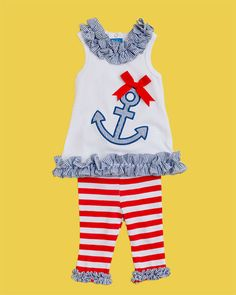I might have a baby just so she can wear this cute outfit!