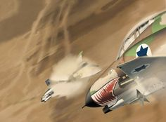 "Israeli Air Force ""Sharkmouth"" F4-E Phantom-II"