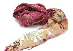 Floral Scarf Floral Print Pink Scarf by BestOffersBoutique on Etsy Scarf Sale, Pink Scarves, Handmade Scarves, Floral Scarf, Pink Fabric, Long Scarf, Womens Scarves, Pink Flowers, Floral Prints