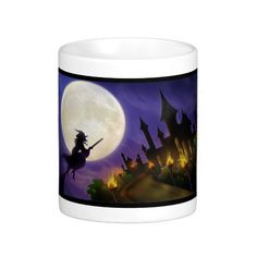 Halloween Classic White Coffee Mug