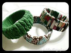Chunky Fabric Bracelets