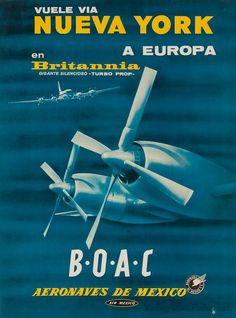 New York (Spanish) - BOAC/Aeronaves de Mexico