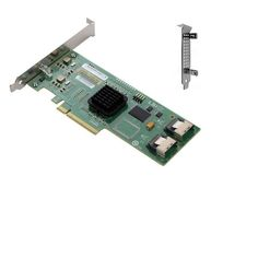 LSI Logic Sas3081E-R Serial Attached SCSI PCI-E 8-Ports 3G Controller LSI00151
