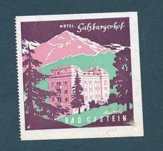 Bad Gastein, Harry Potter Poster, Austria Travel, Vintage Travel Posters, Graphic Design, Art, Art Background, Kunst, Performing Arts