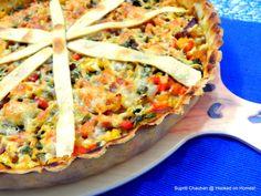 Whole Wheat Vegetable Pie