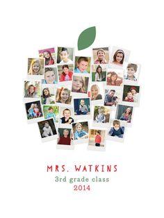 Apple for the Teacher Custom Photo Art Print by Laura Bolter Design | Minted